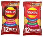 12 pack of Walkers Crisps